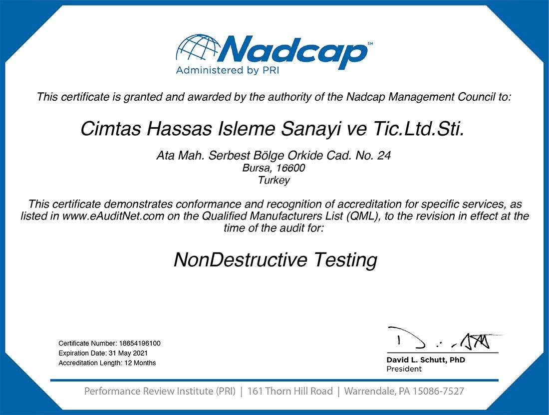 Nadcap_NonDestructive_Testing