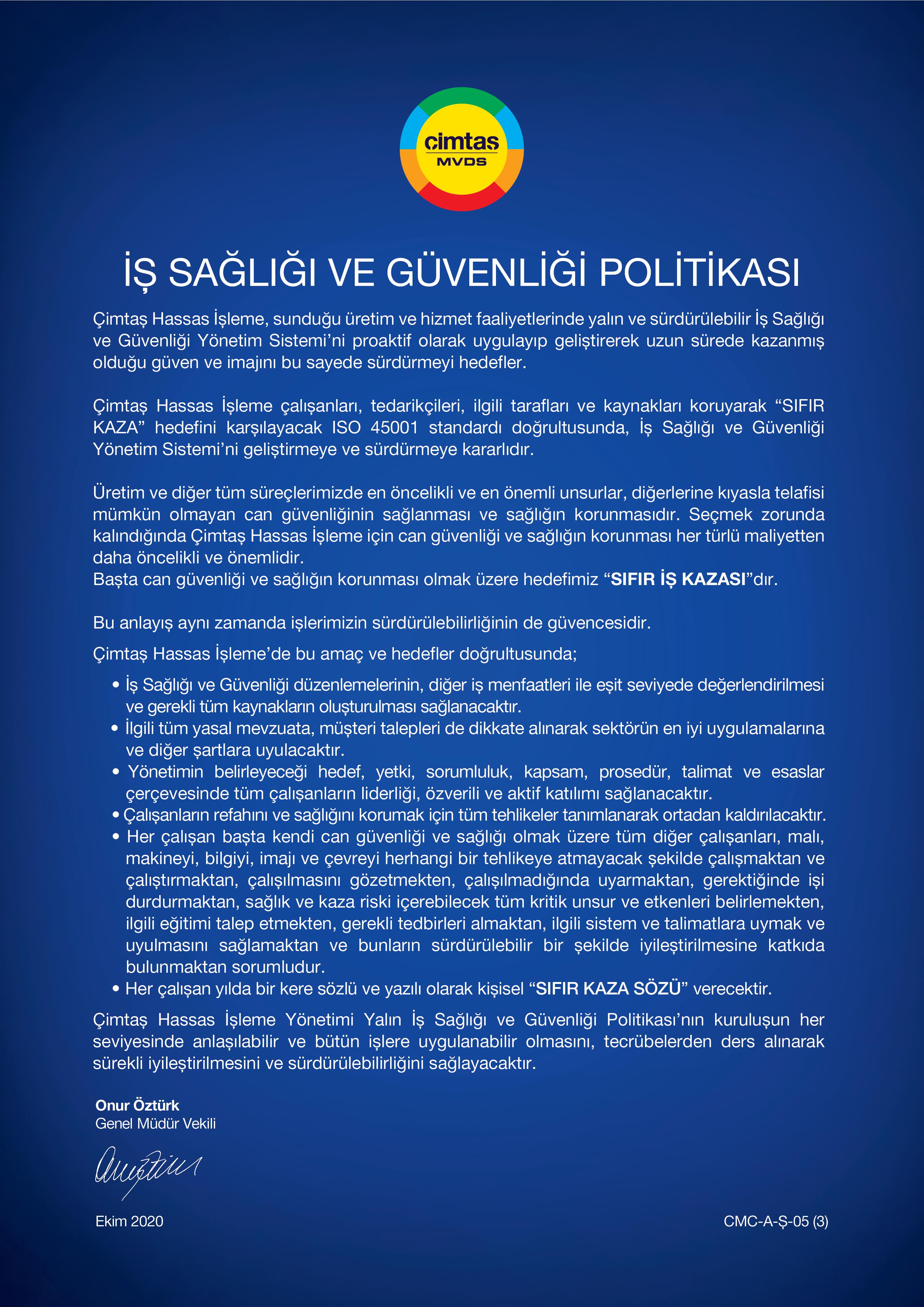 CMC_ISGC_Politikası_TR